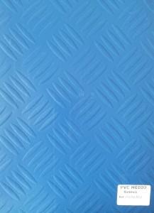 PVC Médio Relevo Folha Azul